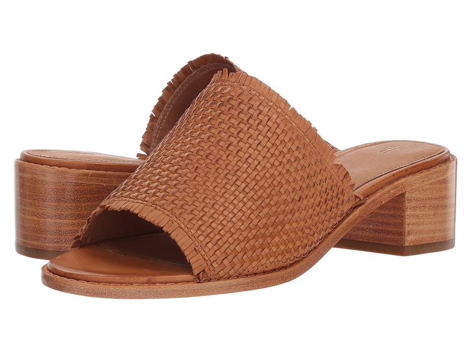3ec232119f07 Frye Cindy Woven Mule Women s 1-2 inch heel Shoes Tan