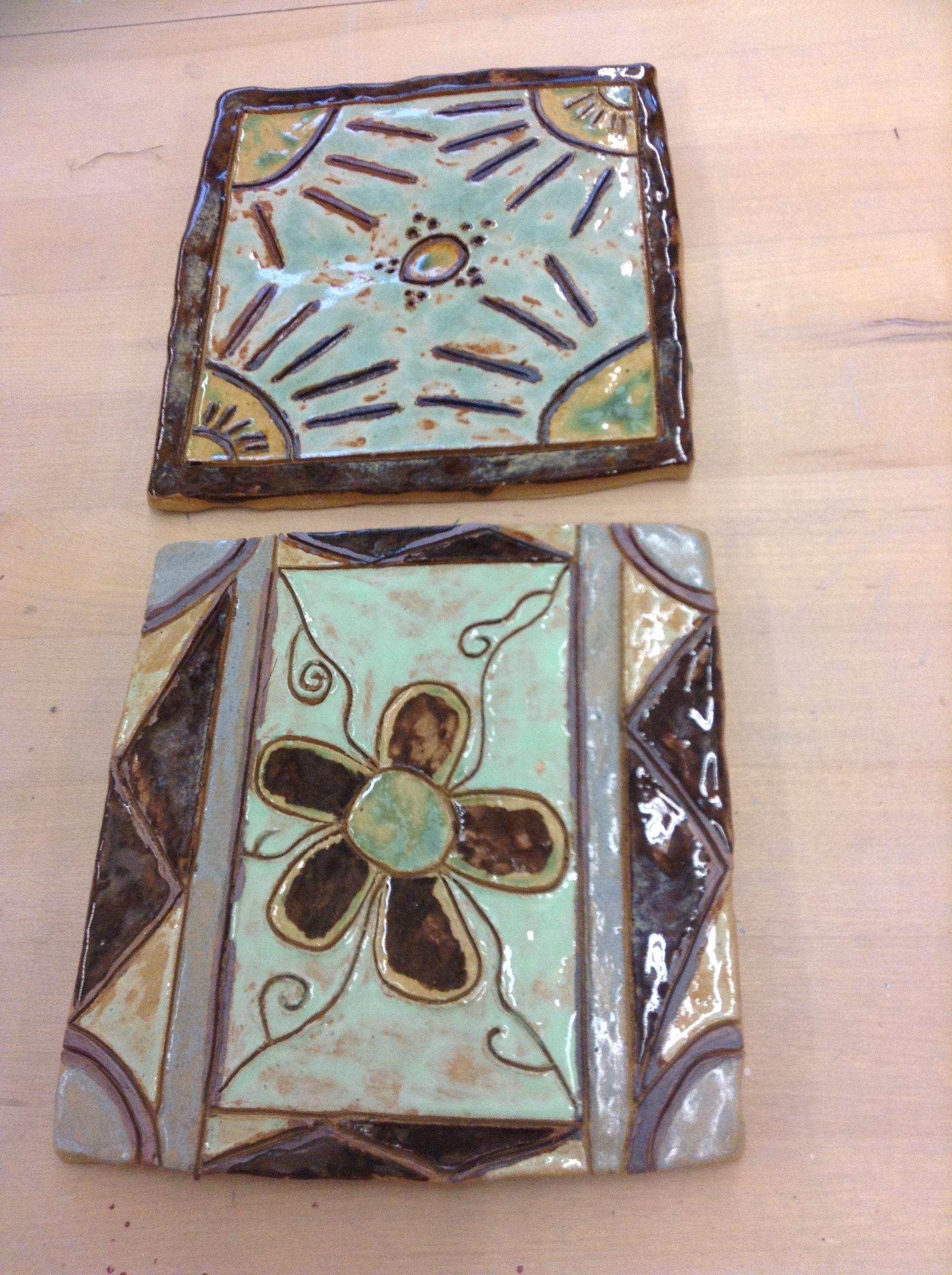 Make Your Own Tiles Easily Out Of Clay