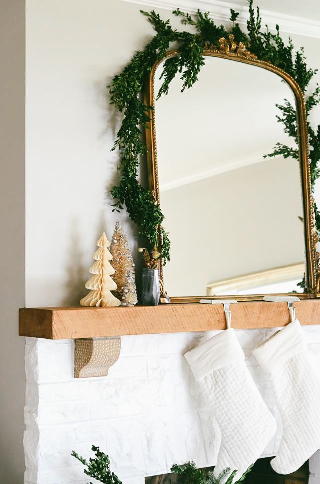 Merry & Bright: Holiday Mantel Décor - Anthropologie Blog ...