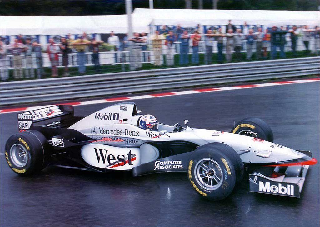 david coulthard, spa 1997 - mclaren mp4-12 | mclaren | pinterest