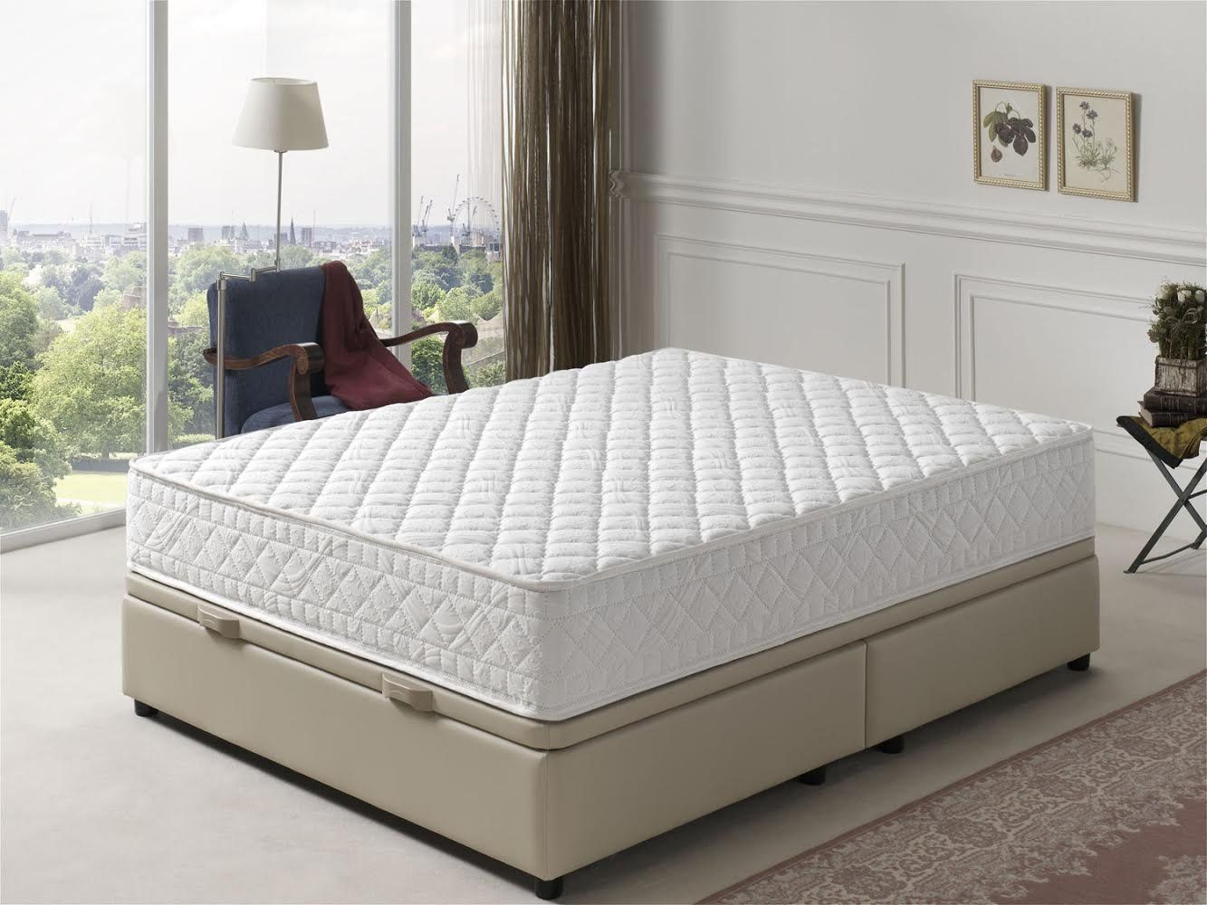 Simpur Relax Matelas 120x190 Cm Dermo Therapie Memoire De Forme Epaisseur 25 Cm Matiere Naturelle Independance De Couchage Er In 2020 Furniture Mattress Home