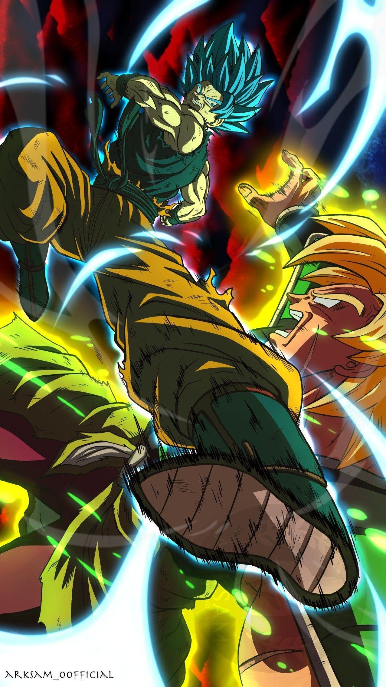 Goku Vs Broly Personajes De Dragon Ball Fondo De Pantalla De Anime Personajes De Goku