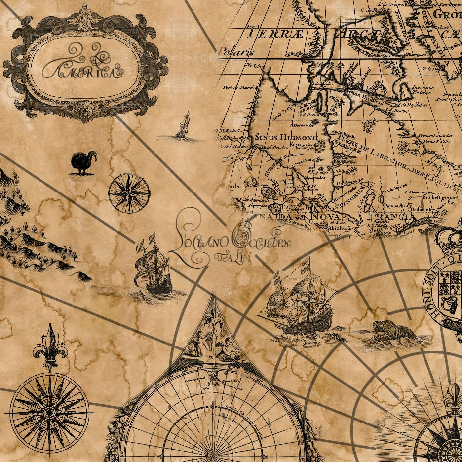 backgrounds Vintage pirate maps