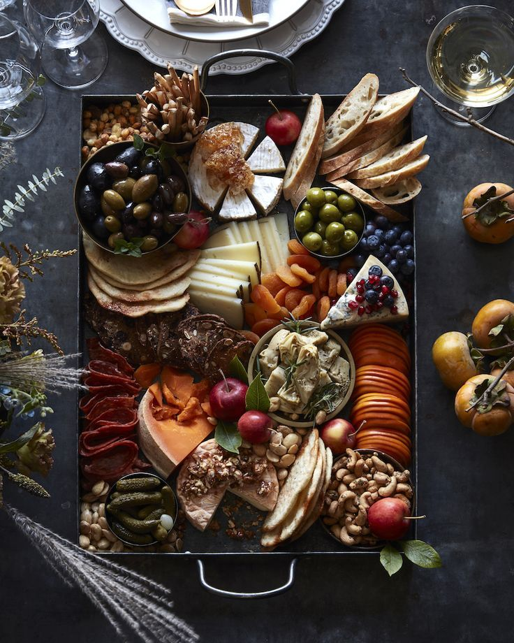 Thanksgiving Cheese Board from www.whatsgabycook….. – #Board #Cheese #dry #Tha…