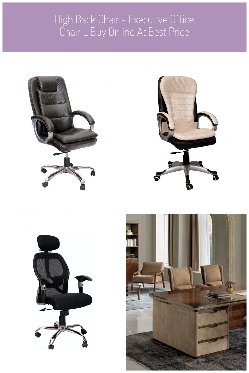 High Back Chair Executive Office Chair L Buy Online At