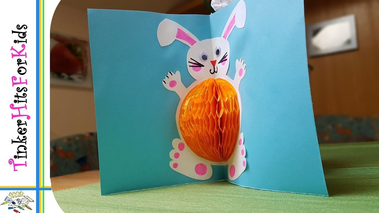 diy popup greeting card 05 easter  selfmade