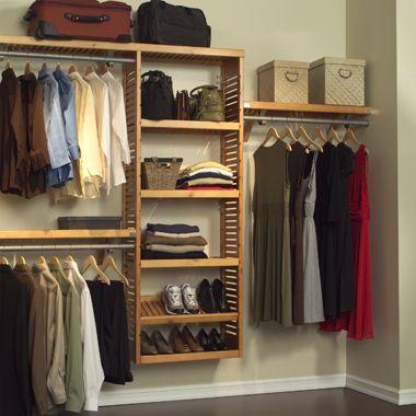Closet Organizer From Bed Bath Beyond Deep Closet Closet Shelving System Closet Organizing Systems