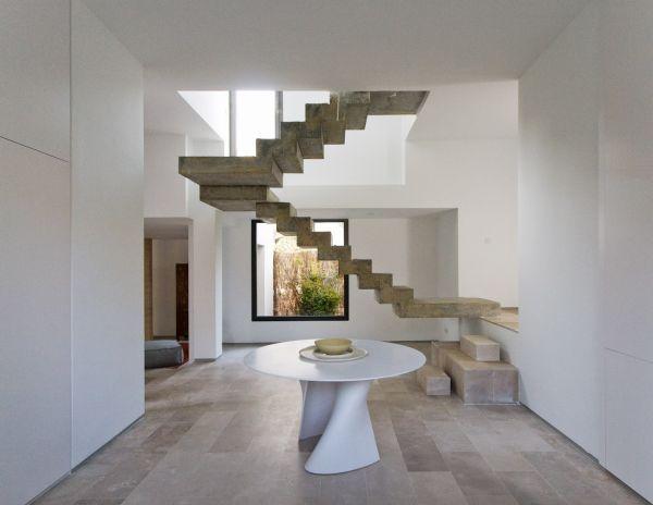 Innenarchitektur Ideen betontreppe innentreppe modern robust ideen innenarchitektur