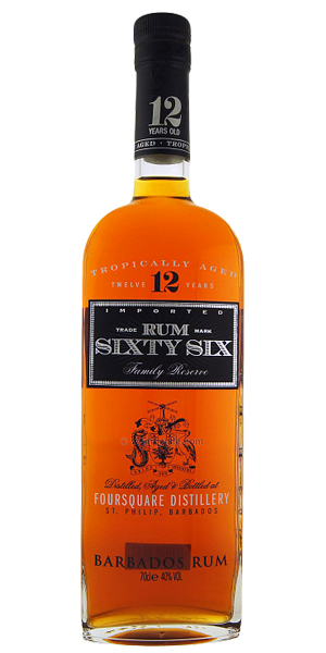 Rum Sixty Six 12 Year Old, Foursquare Flaviar Rum, Rum
