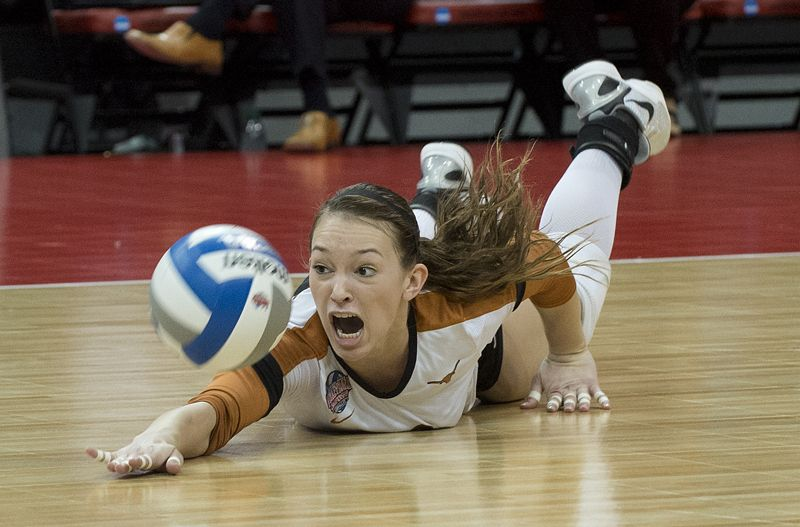 Hannah Allison (12) Volleyball players, Volleyball