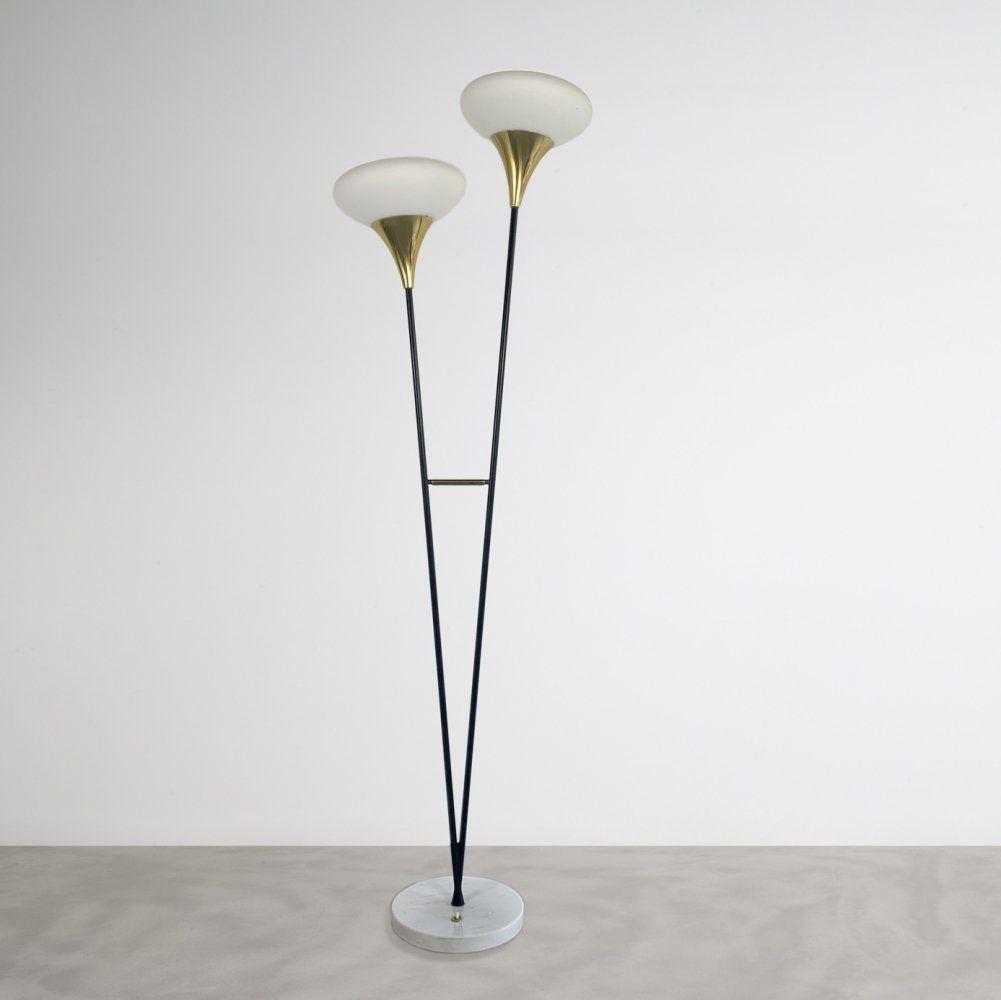 For Sale Stilnovo Floor Lamp 1960s Floor Lamp Stilnovo Floor Lamp Lamp