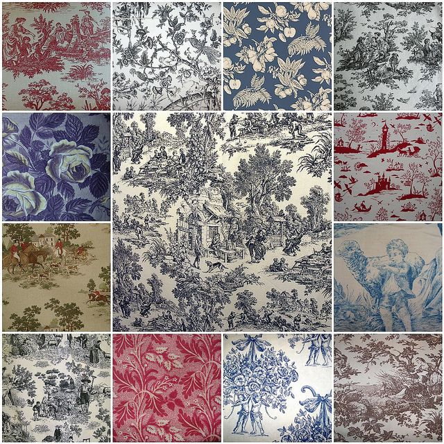 Decorating Ideas Toile Fabric: Sewing, Applique,Textile, Embroidery, Vintage