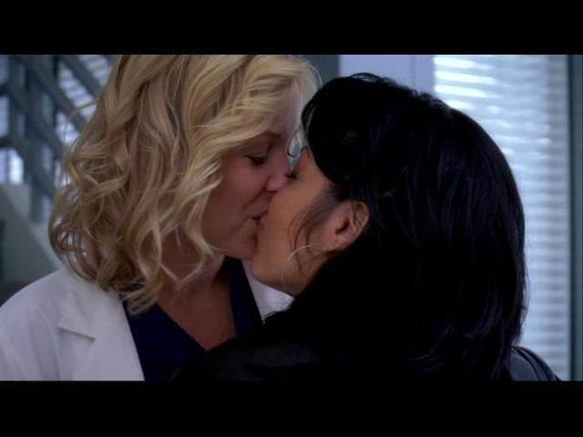 with episodes callie Greys lesbian anatomy
