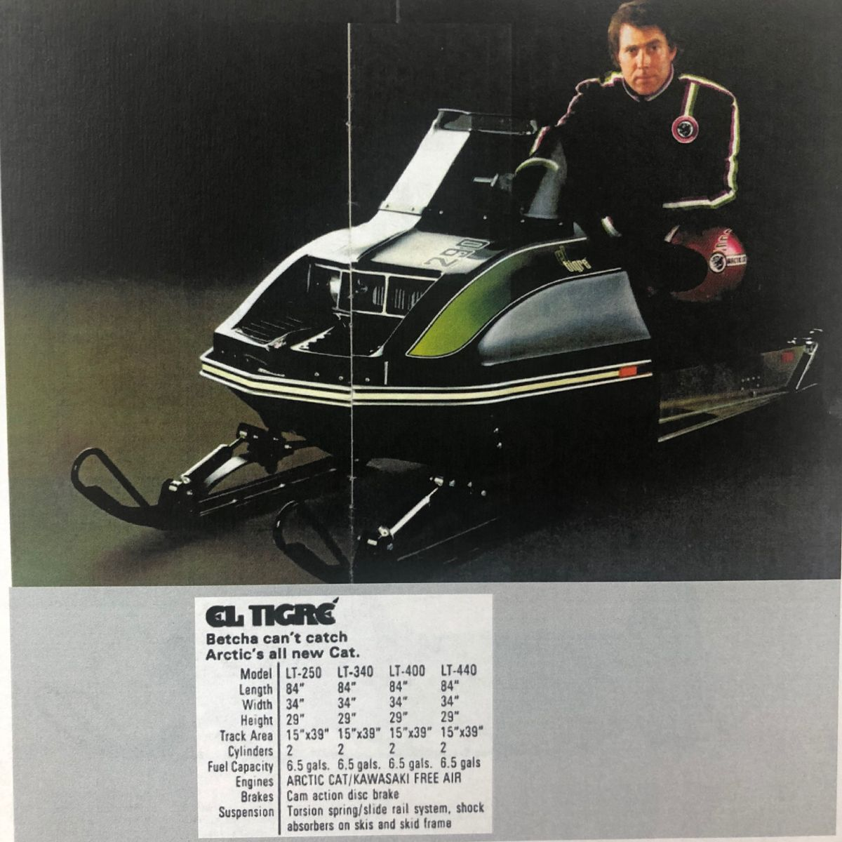 Pin by Dnbuchanan on Arctic Cat in 2020 Vintage sled