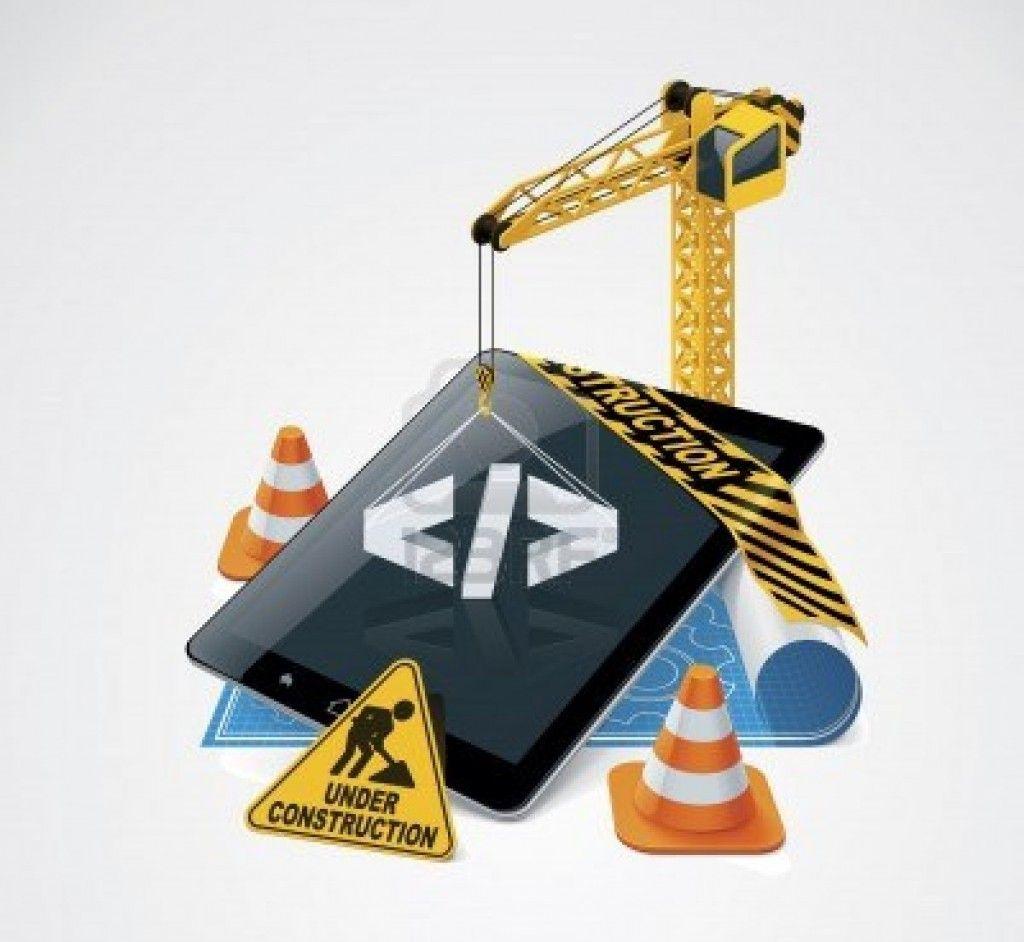 depositphoto vector website construction icon
