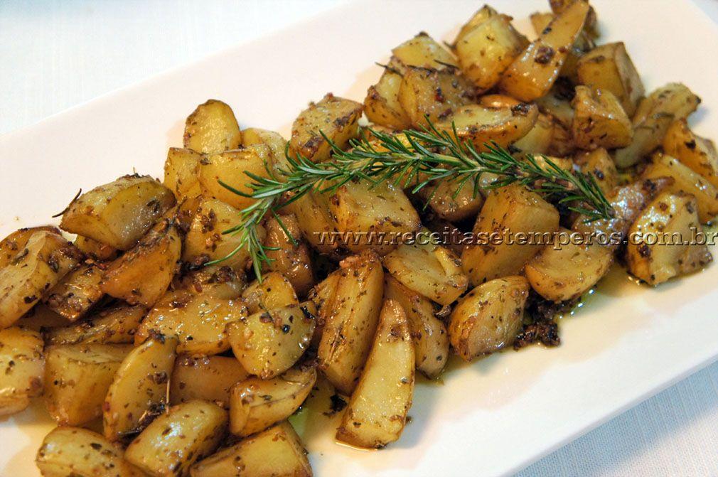 Batatas Rústicas | Receitas e Temperos