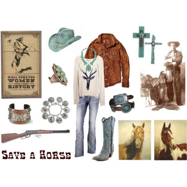 """""""save a horse"""" by watermelondug on Polyvore"""