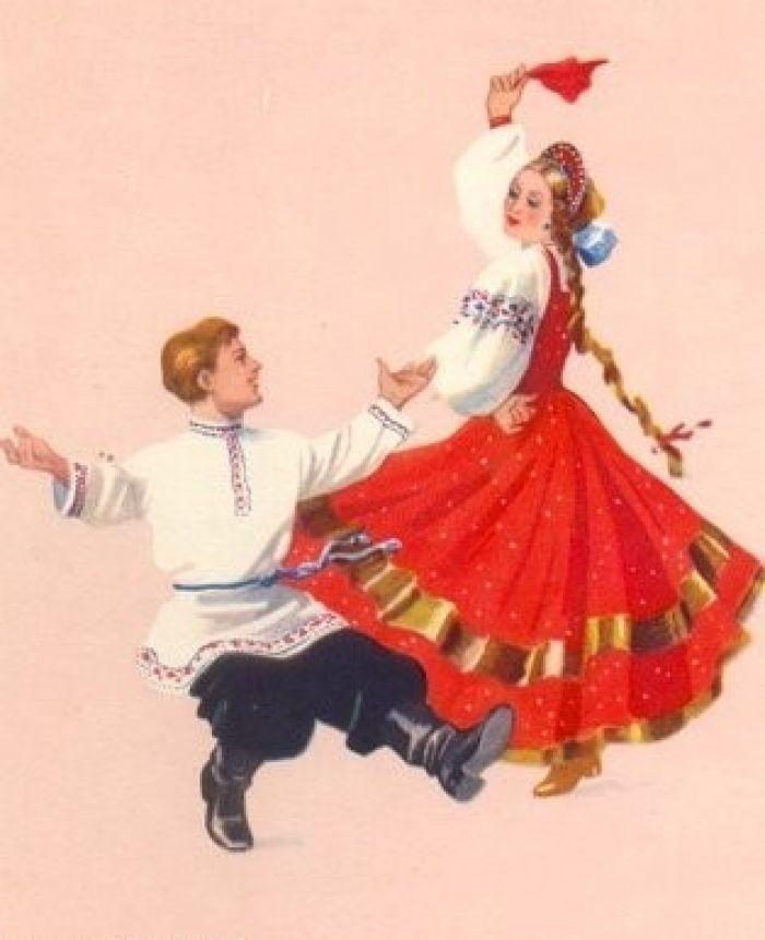 калинка танец рисунок: 10 тыс изображений найдено в Яндекс ...