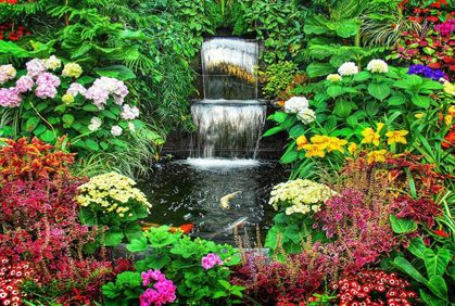 flower garden beds gardening flowers pictures and easy design ideas - Flower Garden Ideas Pictures