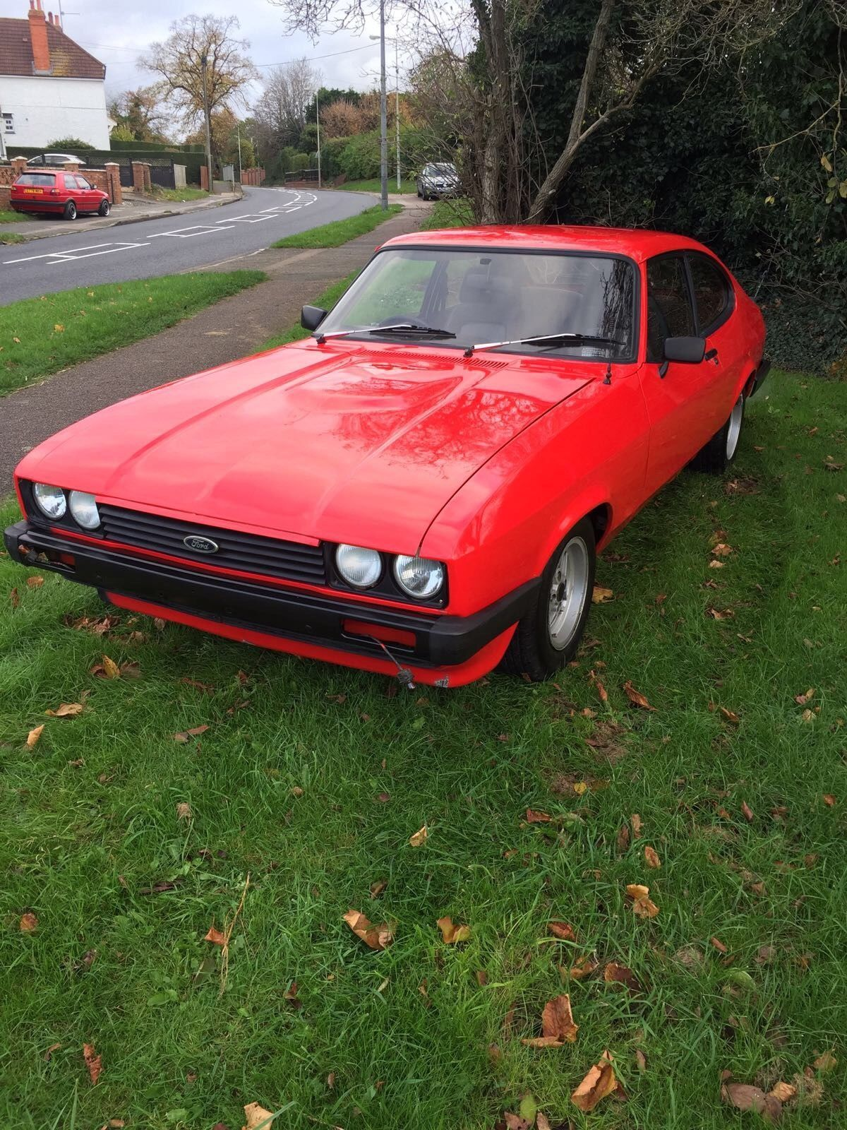 This ford capri low milliage 80k is for sale. | Fast Fords | Pinterest