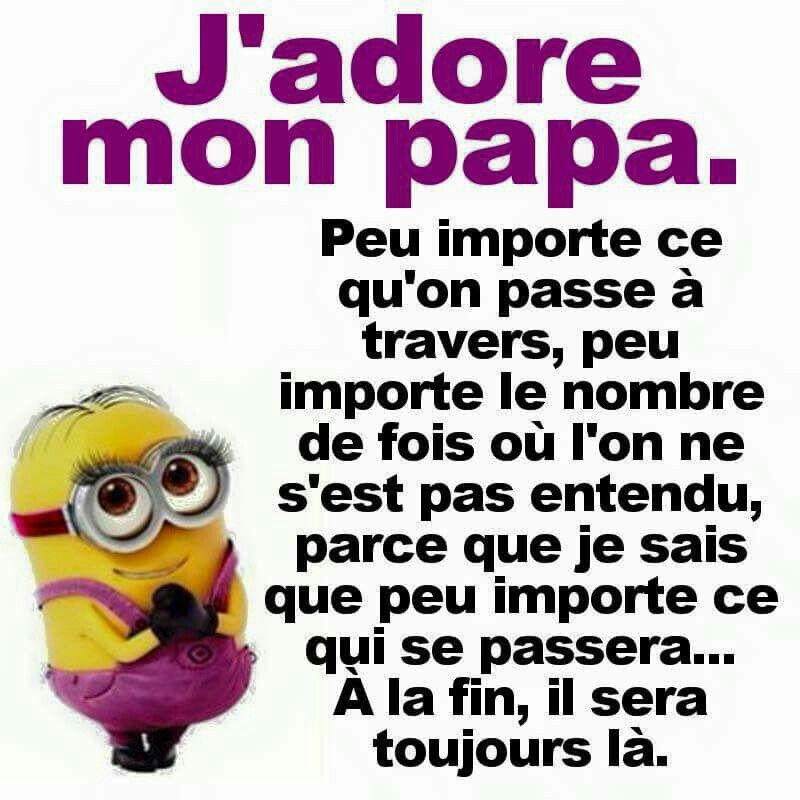 Je Taime Papa Bonne Fête Des Pères Citations Papa