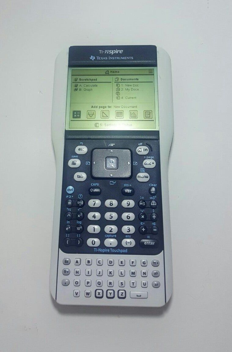 Texas Instruments TInspire with removable Keyboard