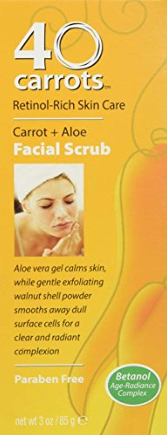 40 Carrots Carrot Aloe Facial Scrub Details Can Be Found By Clicking On The Image This Is An Affiliate Link Facial Scrubs Face Skin Care Facial Skin Care