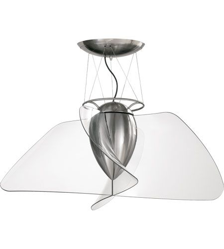 Quorum Angel Inch Brushed Nickel Clear Acrylic Blades Ceiling Fan Images