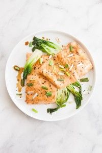 Miso Ginger Oven Baked Salmon Recipe