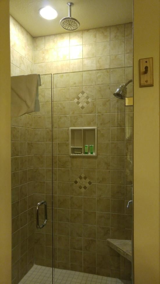 Walk In Shower Westgate Smoky Mountain Resort Amp Spa