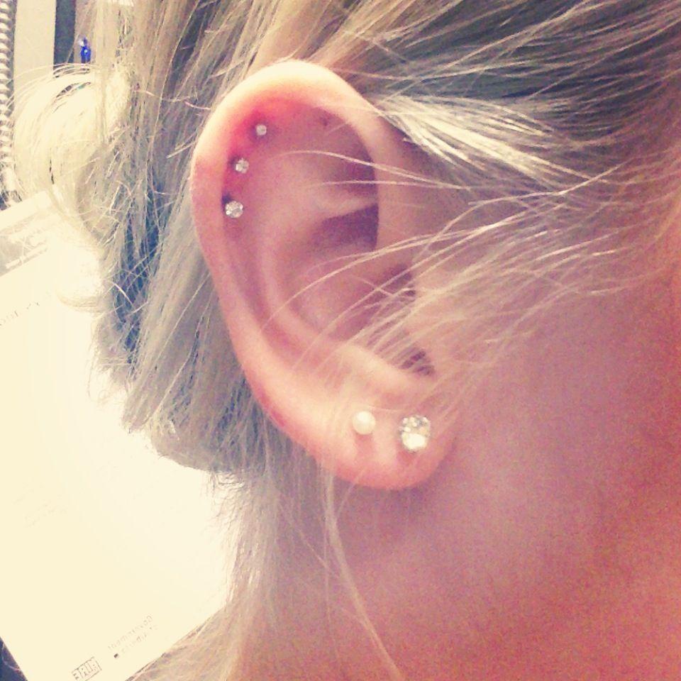 Nose piercing over 40  Ear piercing   Body Art  Pinterest  Ear piercing Piercing and