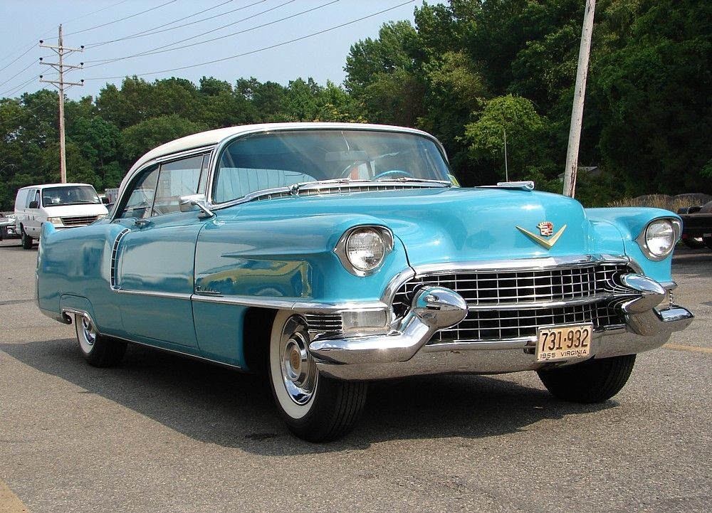 44++ 55 cadillac coupe deville background