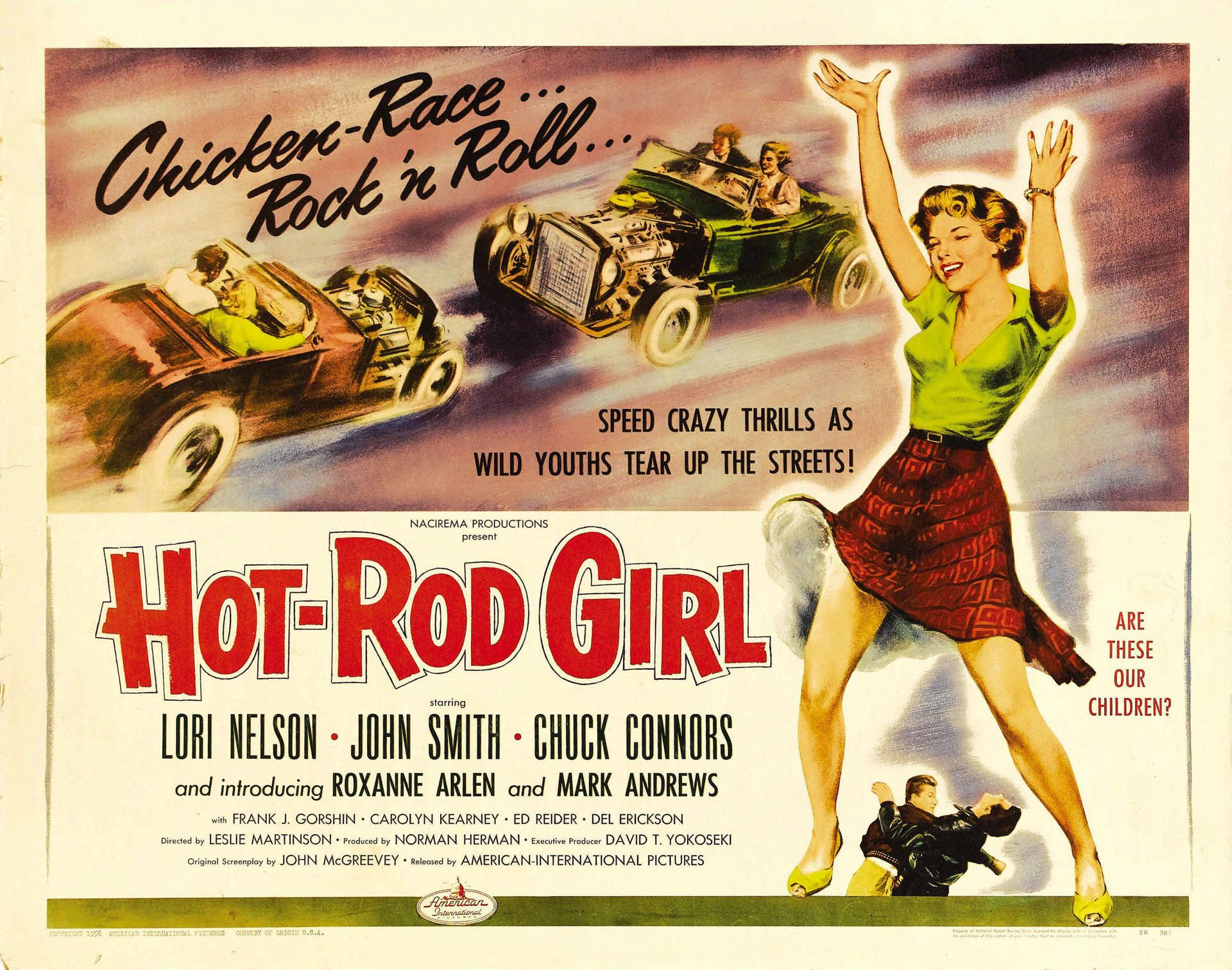Hot Rod Girl - Full Length Film | Hot rod movie, Cars and 32 ford