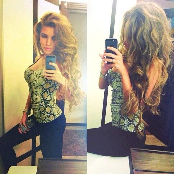 Modèle de coiffure sexy pour cheveux longs LOVE these