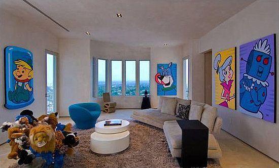 Pajibakanyejetsonsmoviehome2 Jpg Hollywood Homes Kanye West Celebrity Houses