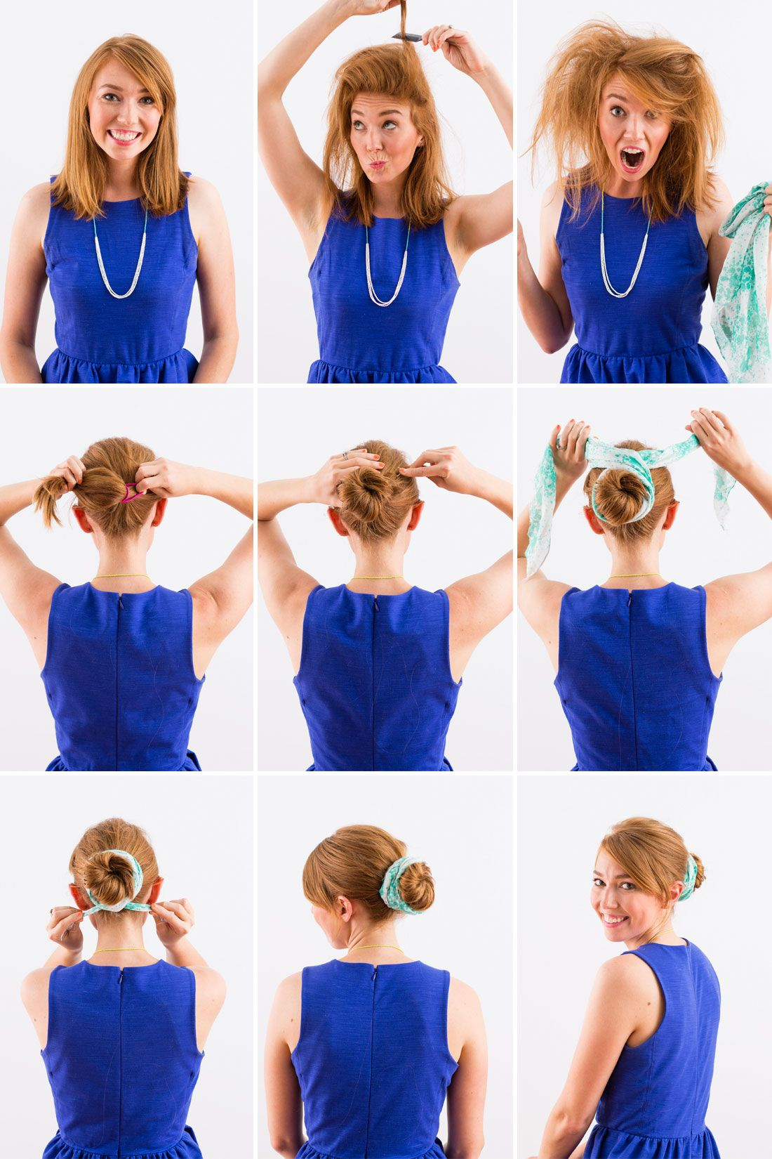 Girl on the go hair hacks in under minutes the go buns and