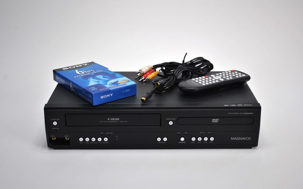 Details about Magnavox DV220MW9 VHS DVD Player Combo (For