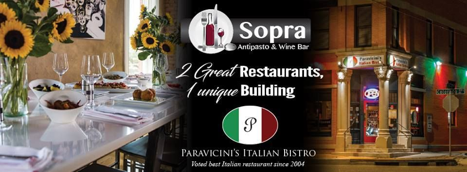 Paravicini S Italian Bistro Sopra 2802 W Colorado Ave Springs Co 80904 Us 719 471 8200 Two Great Restaurants One Unique Building