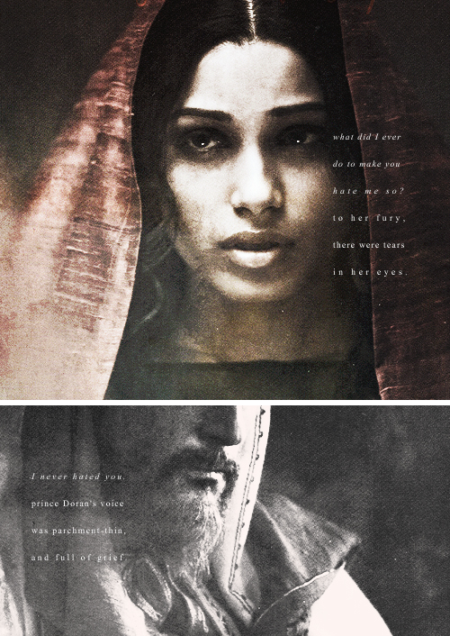 """Arianne Martell """"Tell me, Father, when did you decide to"""