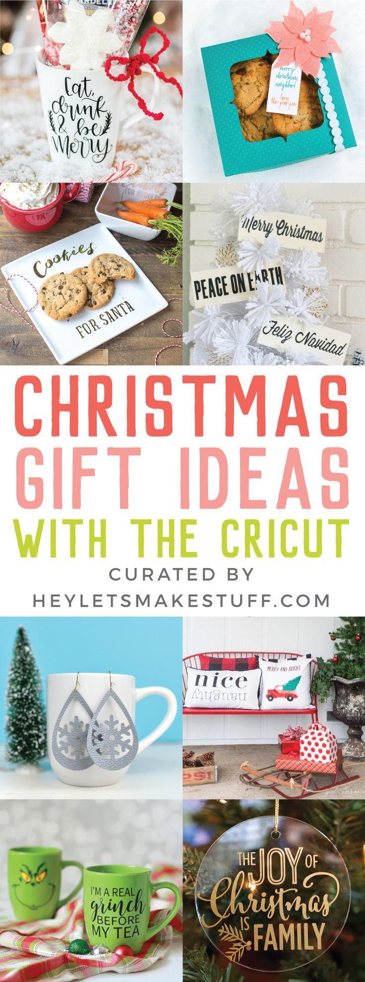 Easy Cricut Christmas Gift Ideas Cricut Christmas Ideas Easy Christmas Gifts Diy Gifts Cheap