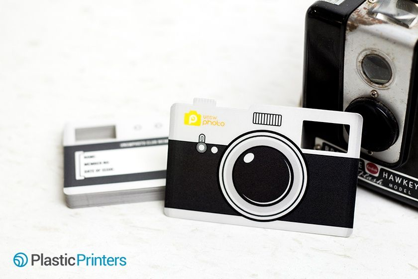Camera Shaped Membership Card With Clear Viewfinder Photography Business Cards Membership Card Business Card Design Photography
