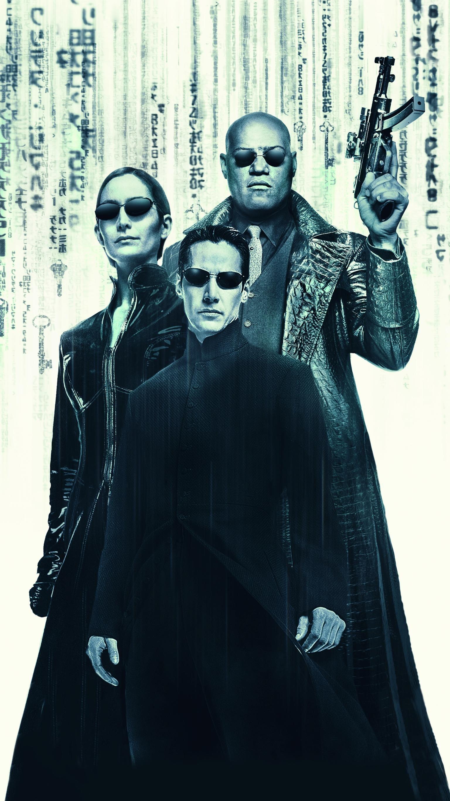 The Matrix Reloaded 2003 Phone Wallpaper Moviemania Matrix Reloaded Matrix Film The Matrix Movie