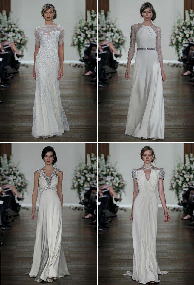 jenny packham vestidos novia estilo años 30 y 40 | vestidos. años 30