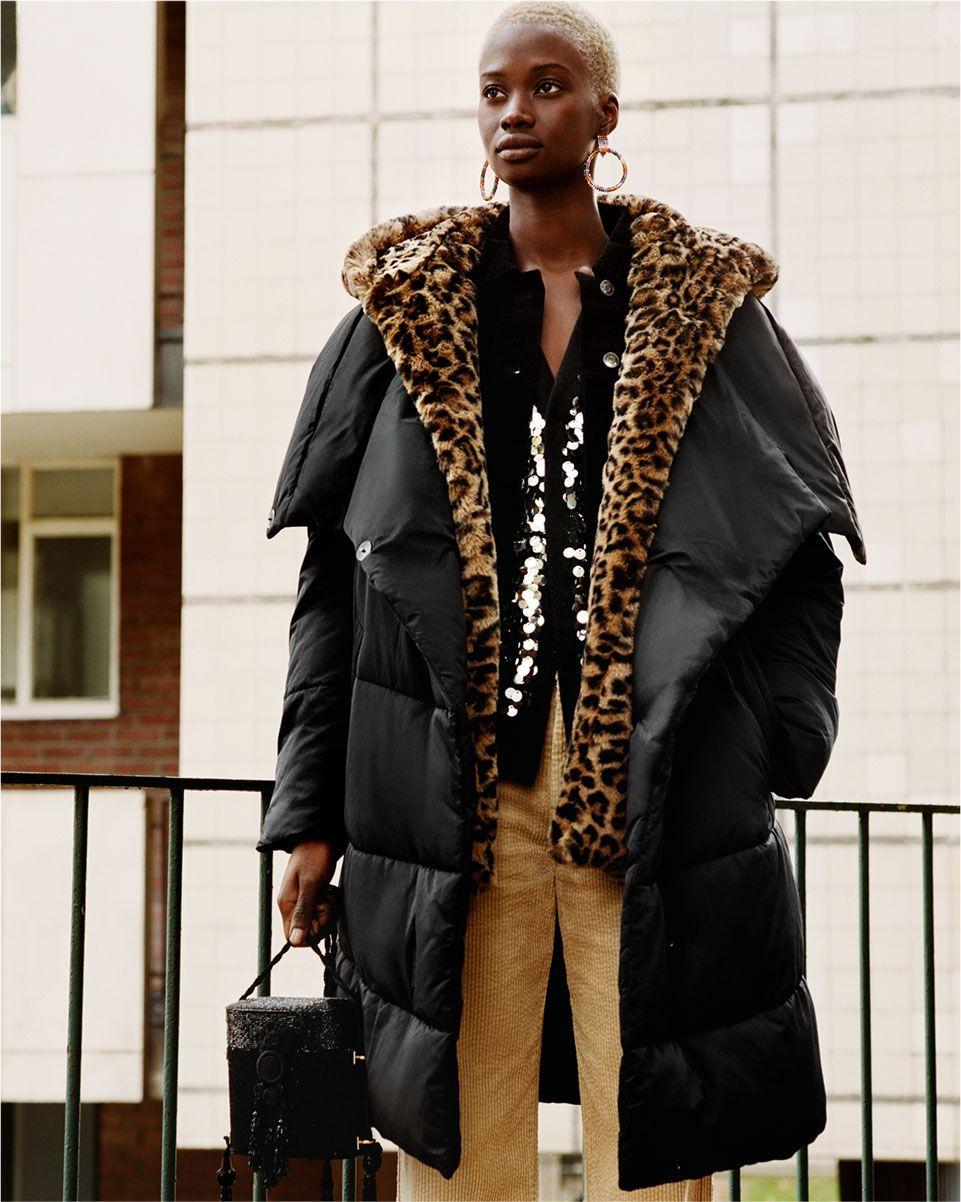 Zara Zaraeditorial Woman Puffer Coats Puffer Jacket Style Fall Coat Trends Winter Coat Trends [ 1202 x 961 Pixel ]