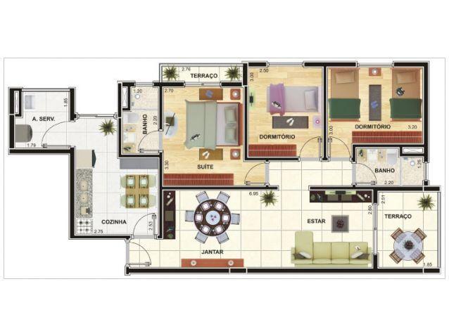 projetos de casas até 80m2