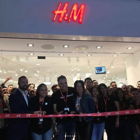 Inaguración de H&M en Fashion Drive, marzo 2017.