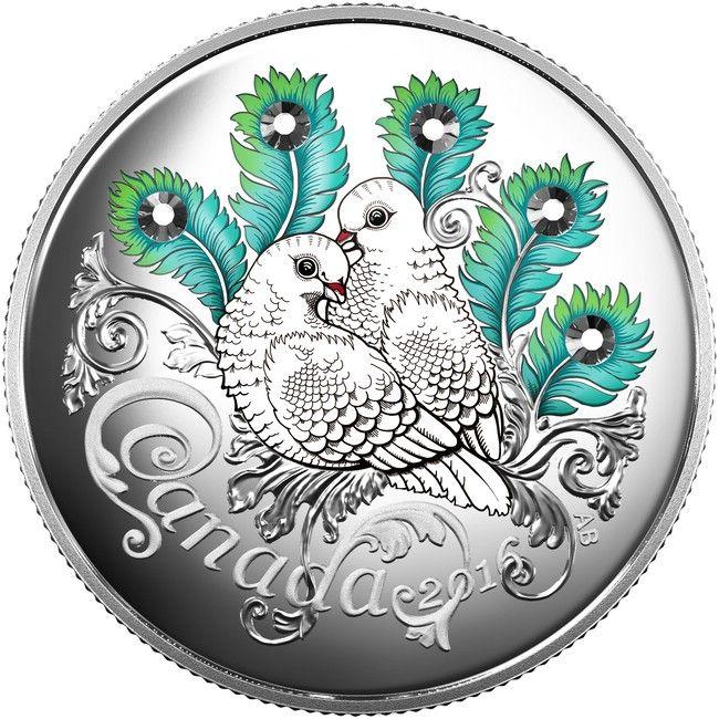 10 Dollar Silber Fest der Liebe PP