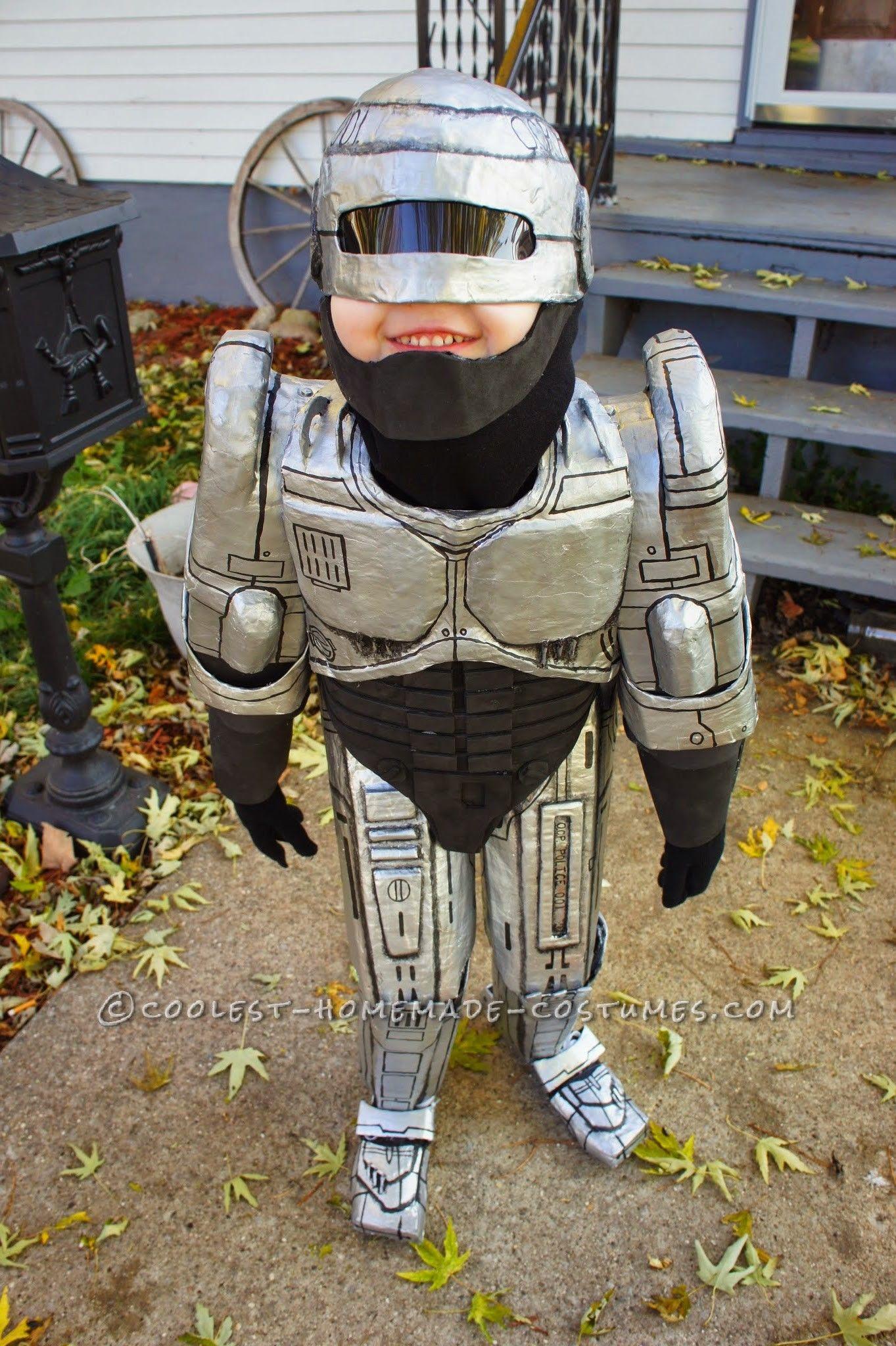 Coolest Robocop Costume For Kids Costumes Pinterest Halloween