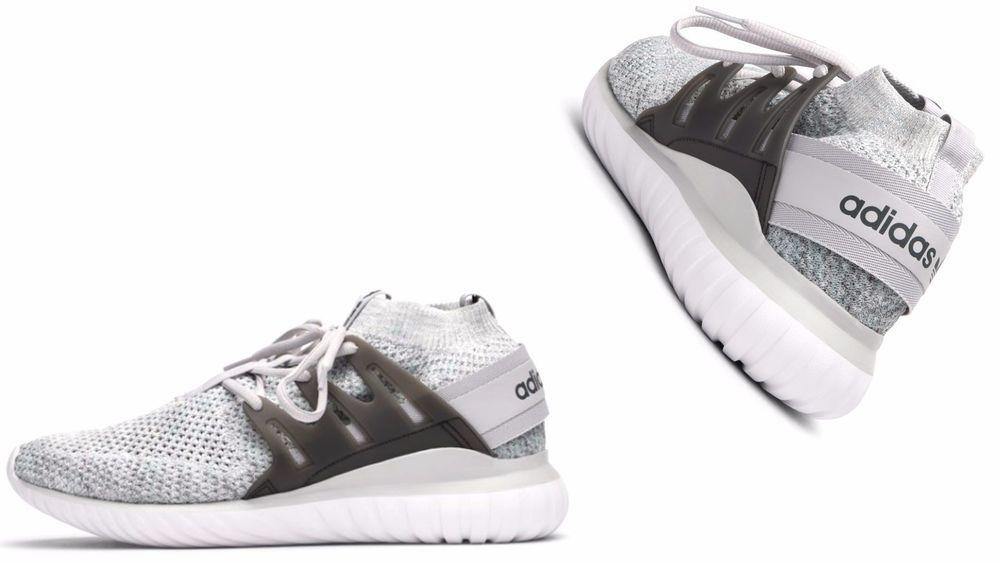 new product b9117 e2c37 Men s Adidas Originals TUBULAR NOVA PRIMEKNIT Tactile Green  Solid GREY  BB8410  adidas  BB8410