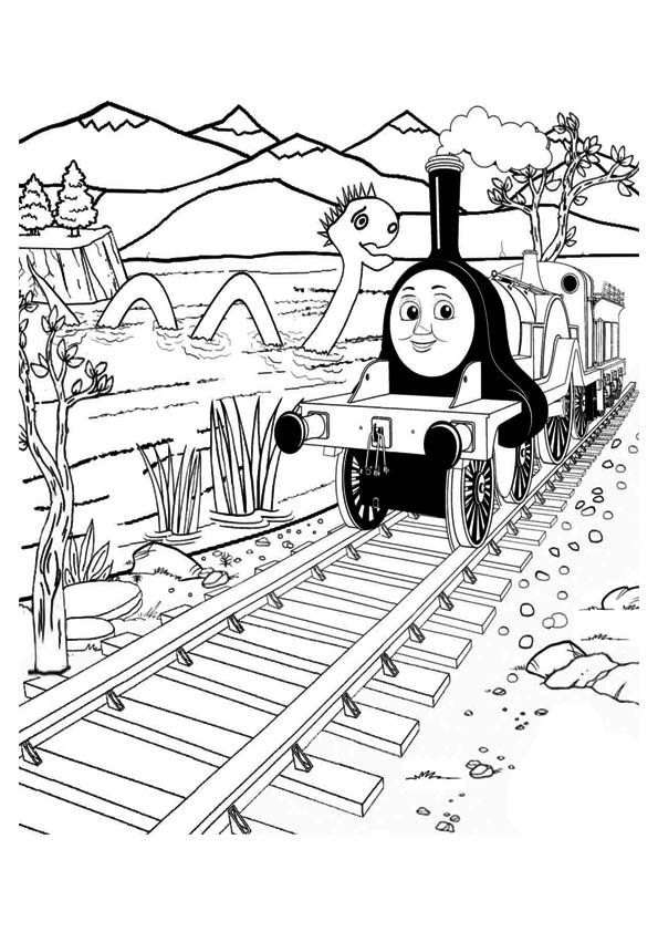 Top 20 Thomas The Train Coloring Pages Your Toddler Will Love Train Coloring Pages Valentines Day Coloring Page Witch Coloring Pages